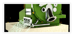 Peeler Centrifuge - Machine Working Process 3D Animation